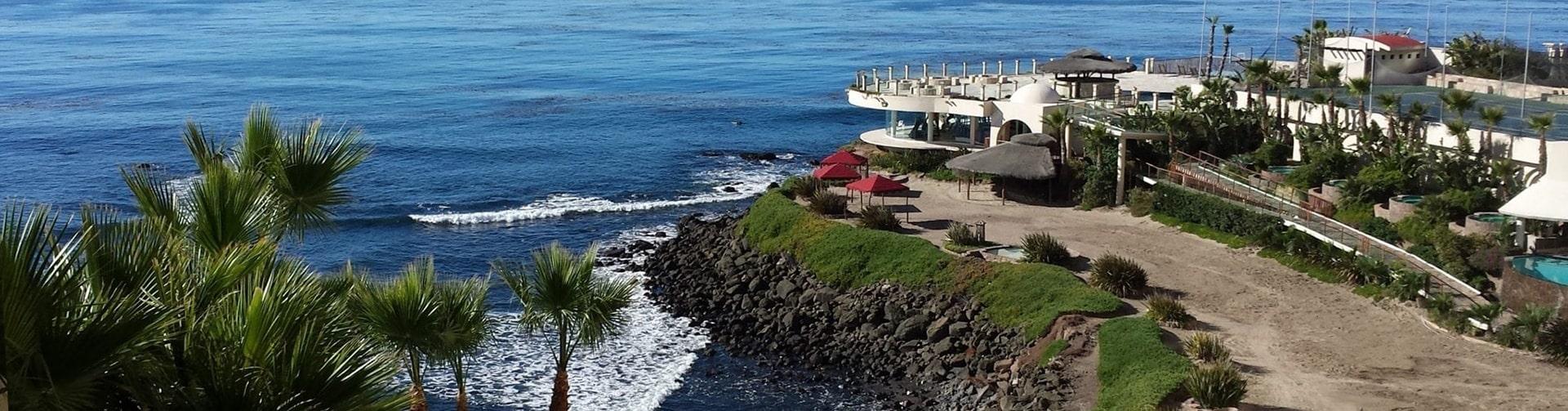 Holistic Sanctuary Baja Aerial View