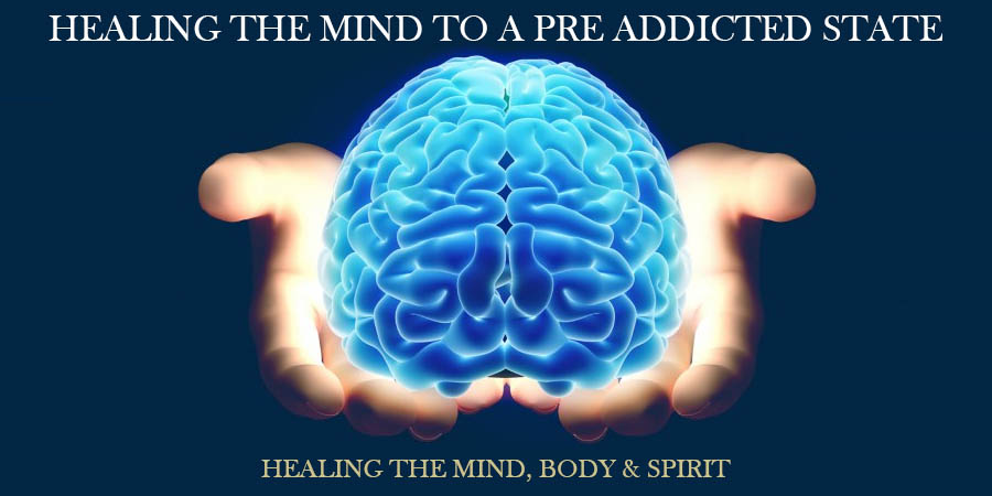 HEALING THE MIND TO A PRE ADDICTED STATE