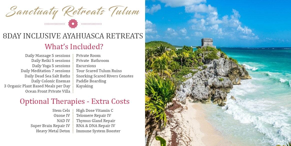 Most Exclusive Retreats in The World The Holistic Sanctuary Retreats Tulum