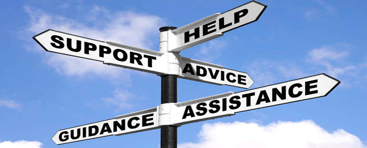 support help guidance assistance