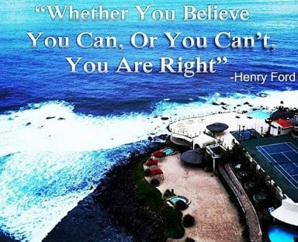 henry ford whether you believe you can