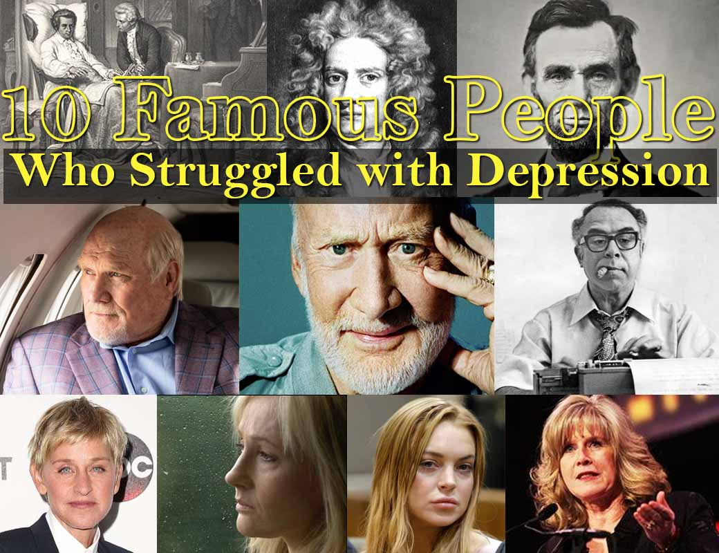Famous People Who Struggled with Depression