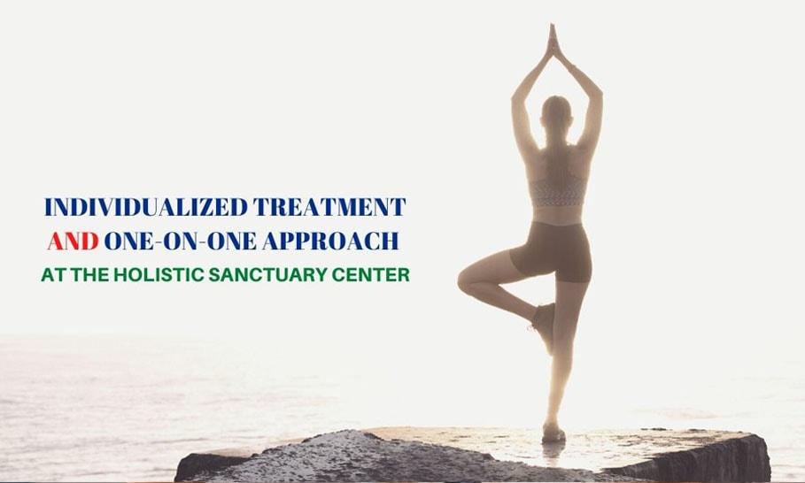 Individualized treatment at The Holistic Sanctuary Center